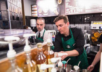 Inauguration Starbucks Nantes